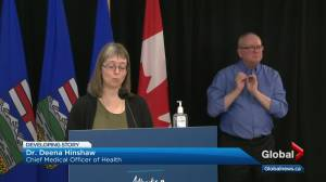 Alberta offers walk-in AstraZeneca COVID-19 vaccination, identifies 1,646 new cases (02:47)