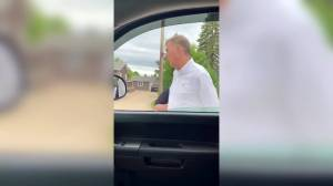 Maxime Bernier arrested by RCMP in Manitoba (01:46)