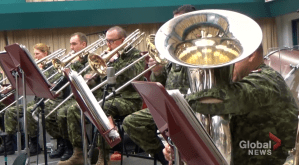 Royal Canadian Artillery Band's virtual concert (06:45)