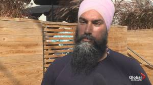 Federal NDP leader Jagmeet Singh visiting the South Okanagan