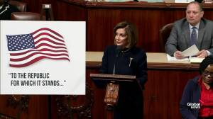 House Speaker Nancy Pelosi opens debate on impeaching Trump