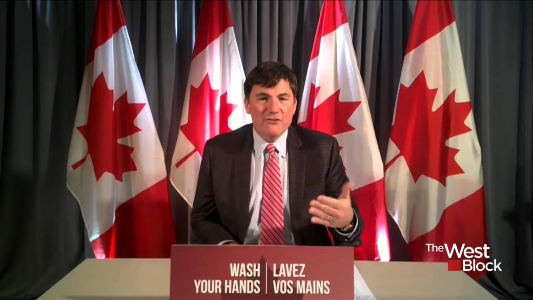 Click to play video 'Canada buying up vaccines 'as quickly as we can': LeBlanc'