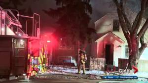 Latest fire marks 5 blazes at vacant homes in central Edmonton since August
