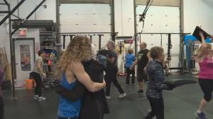 The Little Sweat Shop invites seniors to workout together