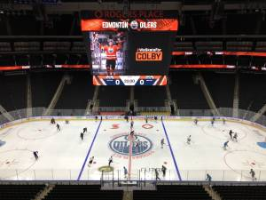 Day 1 of Edmonton Oilers training camp
