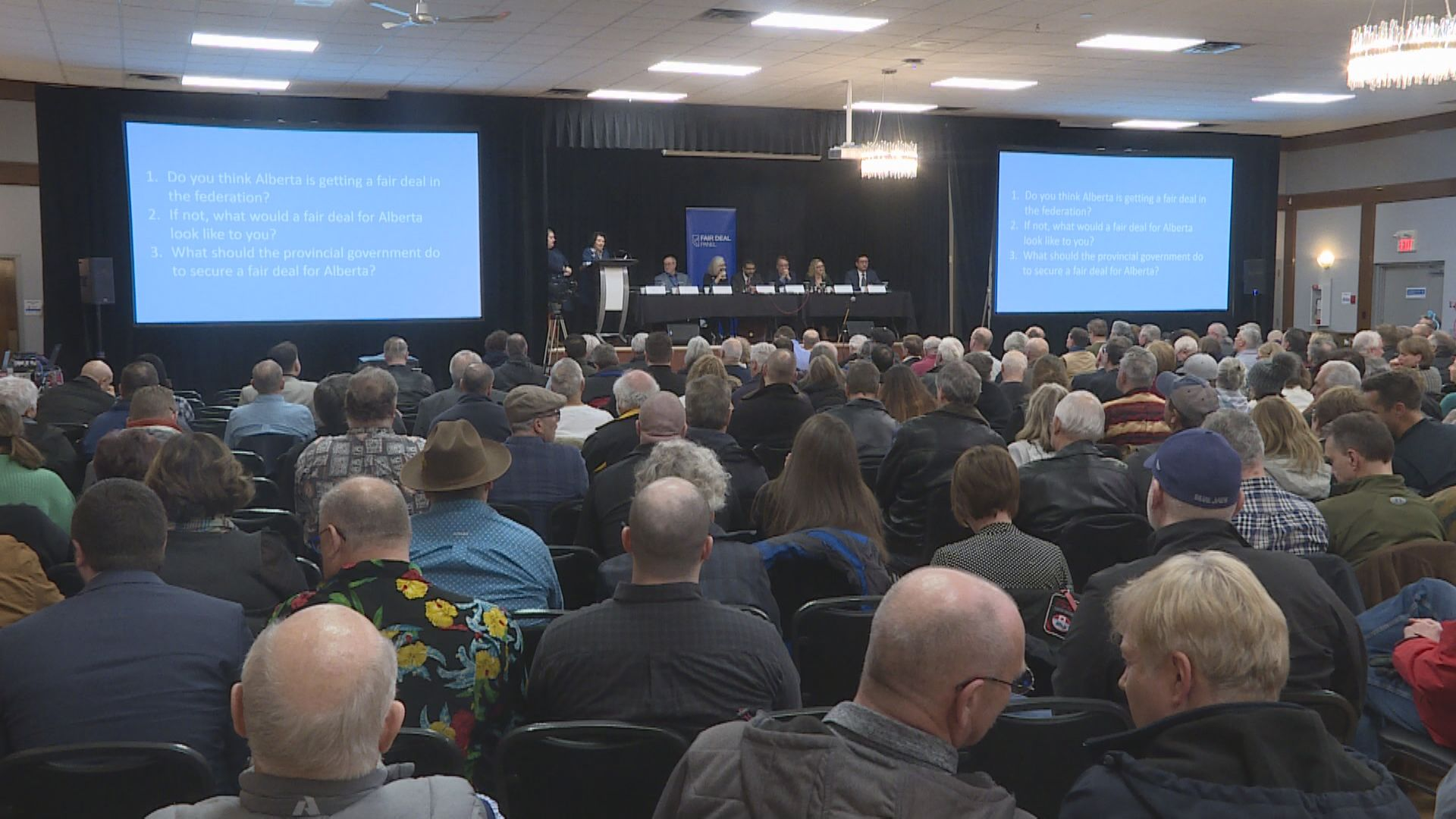 'Fair Deal Panel' wraps up provincewide tour in Airdrie