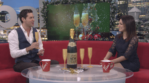Toasting Etiquette for New Year's