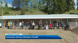 Sunnybrae Seniors Hall receives facelift thanks to community donations (01:46)