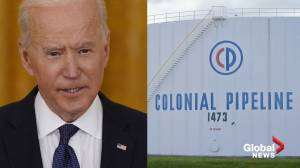 Biden to meet with Putin over ransomware cyberattack on Colonial Pipeline (01:45)
