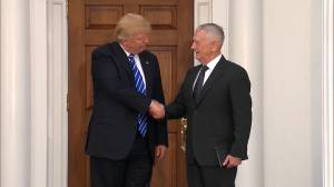 Former defense secretary Mattis speaks out for first time since resigning