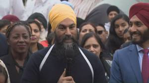Federal Election 2019: Singh talks about encouragement from Jack Layton before running in Brampton in 2011