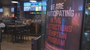 Alberta businesses need more help despite new restrictions exemption program grant (01:51)