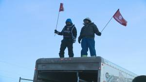 14 arrested following Unifor's blockade at Co-op Refinery