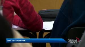 School boards await provincial guidance on return to school (02:46)