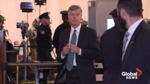 U.S. Ambassador to Ukraine Bill Taylor arrives for impeachment probe hearing