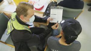 Rare look at vaccination campaign for crews of foreign ships in B.C. (01:55)