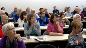 Saskatoon seniors hitting the books at University of Saskatchewan (01:46)