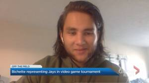 Bo Bichette representing Blue Jays in MLB The Show Players Tournament