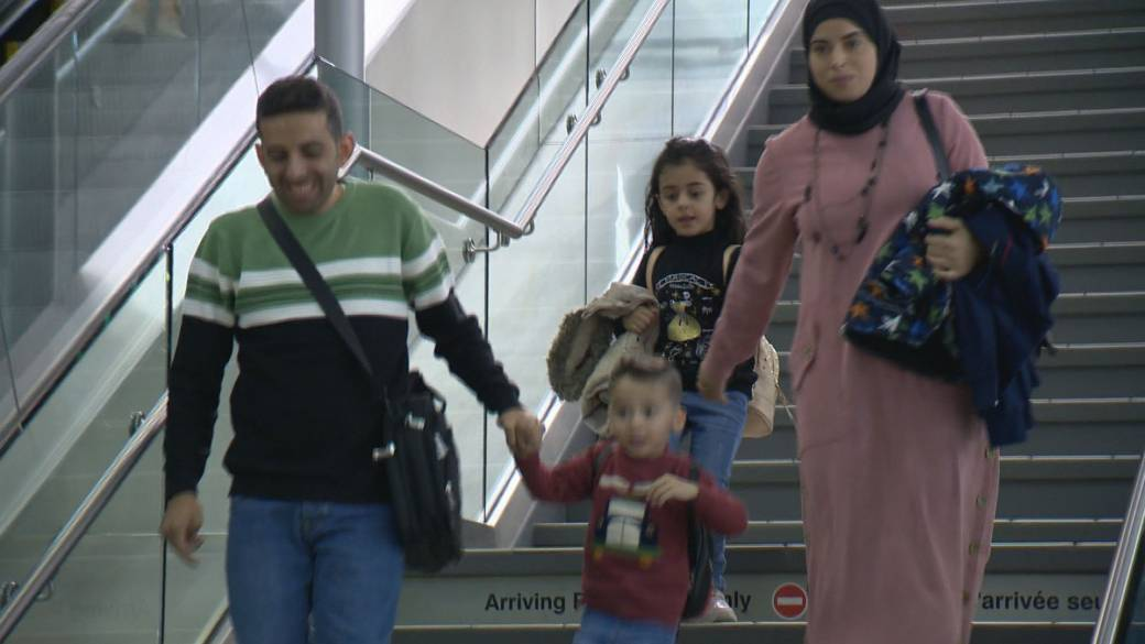 'Meant to be': Syrian refugees reunited with help from Regina family