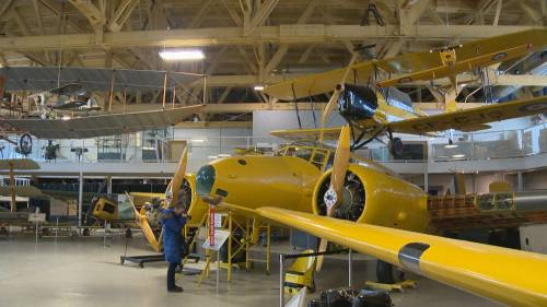 Calgary flight museum celebrates National Aviation Day | Watch News Videos Online
