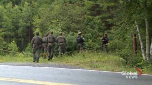 'We want a peaceful resolution,' Bridgewater mayor says as manhunt continues