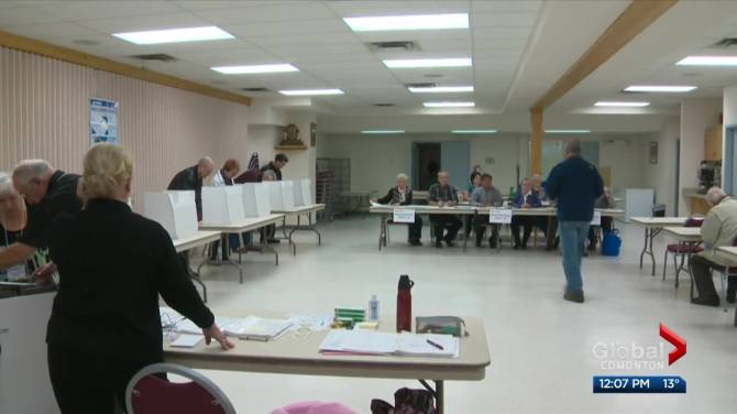 Click to play video: Advance polls open Monday for Edmonton election