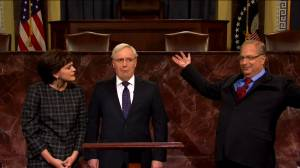 'SNL' pokes fun at impeachment trial, Alan Dershowitz, in first show of 2020