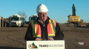 Trans Mountain CEO outlines estimated timeline of pipeline expansion