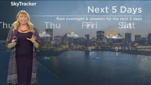 Global News Morning weather forecast: Tuesday October 22, 2019