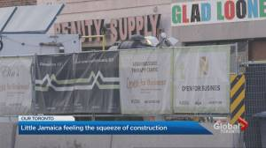 'There will be no Little Jamaica': Toronto neighborhood threatened by LRT construction (02:51)