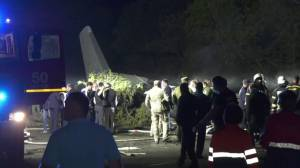 At least 22 dead after military plane crash in Ukraine