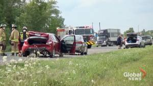 6 vehicles involved in collision on Hwy. 7 near Peterborough (00:51)
