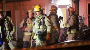 Late-night apartment fire in Kingston causes extensive damage