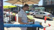 Play video: CafeTO program opens for businesses in Toronto