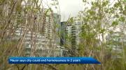 Play video: Nenshi says Calgary can end homelessness in 2 years