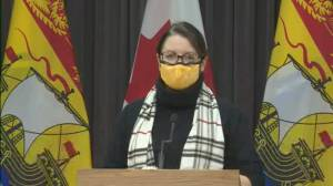 Coronavirus: New Brunswick reports highest single-day record of cases since the pandemic began (00:38)