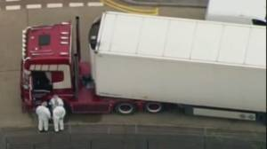 Human Trafficking: U.K. truck driver faces 39 manslaughter charges (02:13)