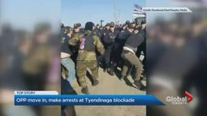 OPP dismantle blockade in Tyendinaga and make 10 arrests