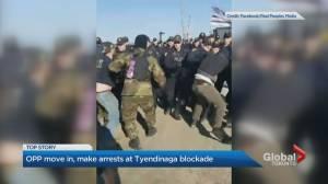 OPP dismantle blockade in Tyendinaga and make 10 arrests