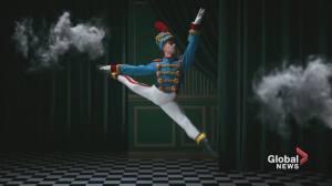 Nutcracker ballerinas from Les Grands Ballets