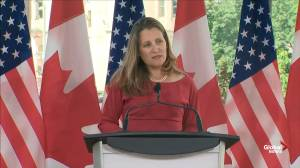 Freeland says Russia should not be welcomed back into G7 until it leaves Crimea, Donbass