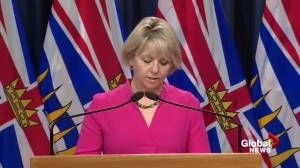 B.C. officials report 1,330 new COVID-19 cases, 31 additional deaths over the weekend (05:16)