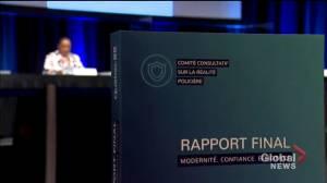Quebec's policing in need of overhaul: report (02:09)