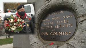 Vancouver Remembrance Day ceremony scaled back because of pandemic (02:56)