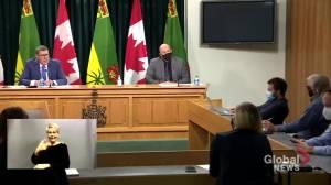 No new COVID-19 restrictions for Saskatchewan amid 4th wave: Moe (01:15)