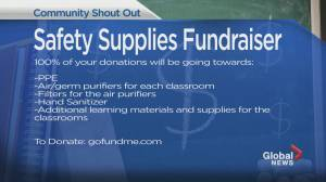 Community Events: Safety Supplies Fundraiser