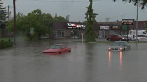 Severe storm hits southern Alberta