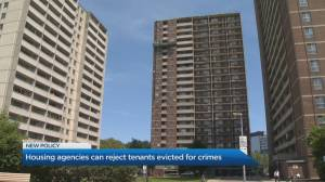 Is there any benefit to rejecting TCH tenants with a criminal record?