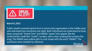 Street drug warning in Halifax after overdose death (02:00)