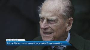 Prince Philip transferred to different hospital for further treatment (00:34)